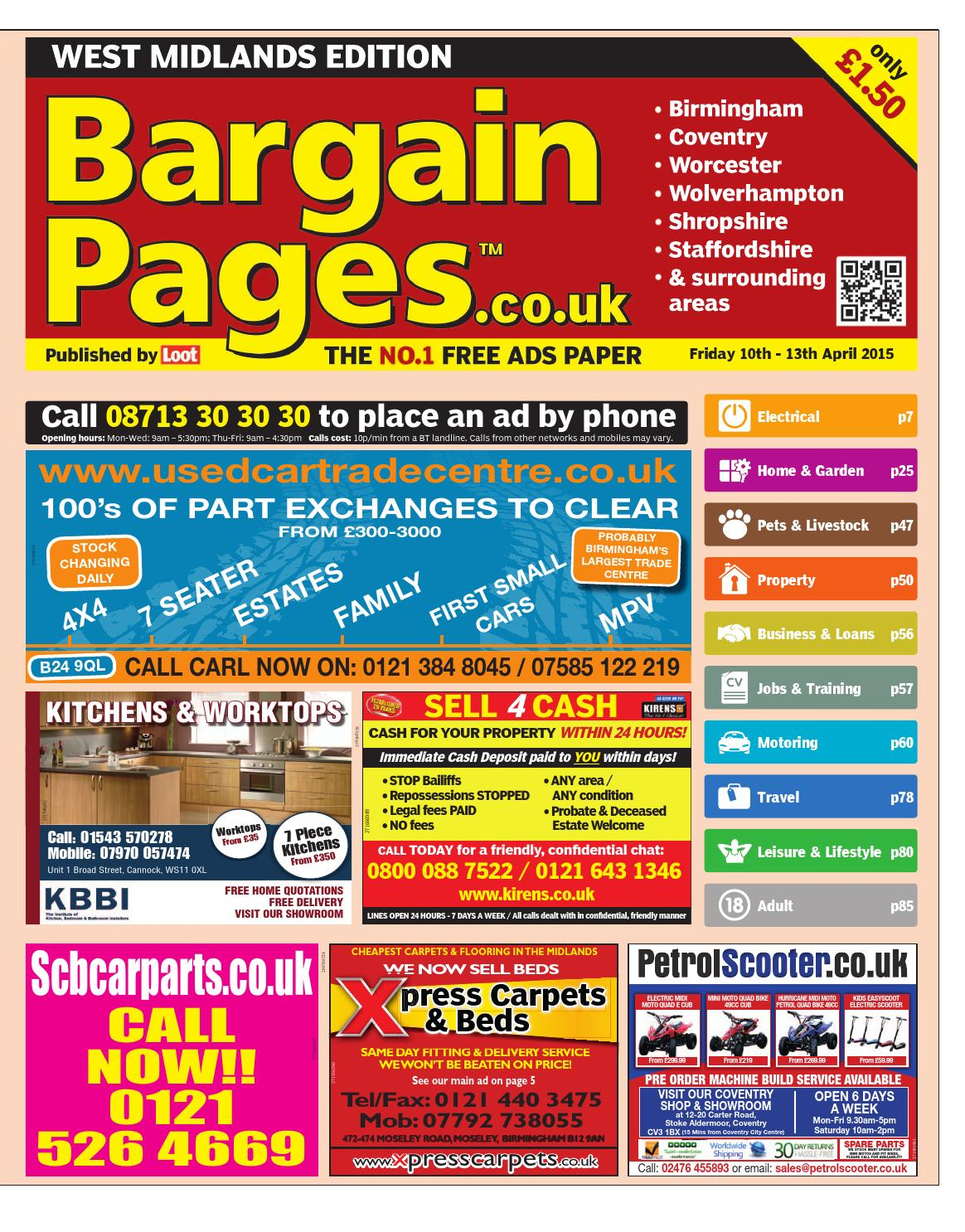 Bargain Pages West Midlands 0076b159d