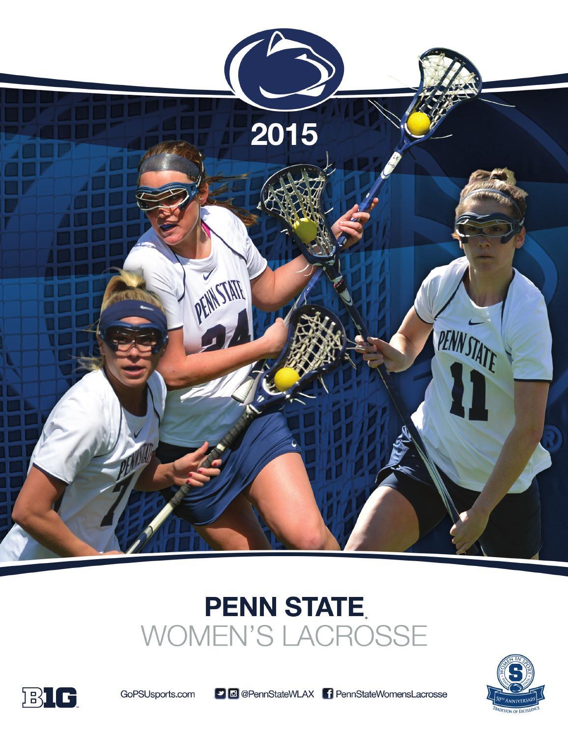 2015 Penn State Women's Lacrosse Yearbook by Penn State ...