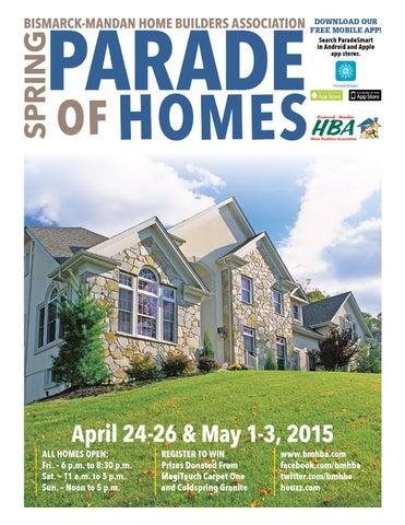 2015 Spring Parade Of Homes Magazine