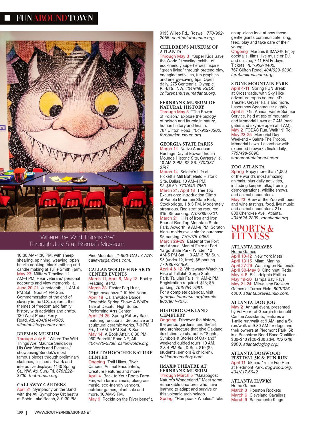 f8e3995e3f Southern Seasons Magazine Spring 2015 by Southern Seasons Magazine - issuu