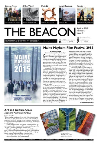 The Smcc Beacon 4 14 2015 By The Beacon Issuu