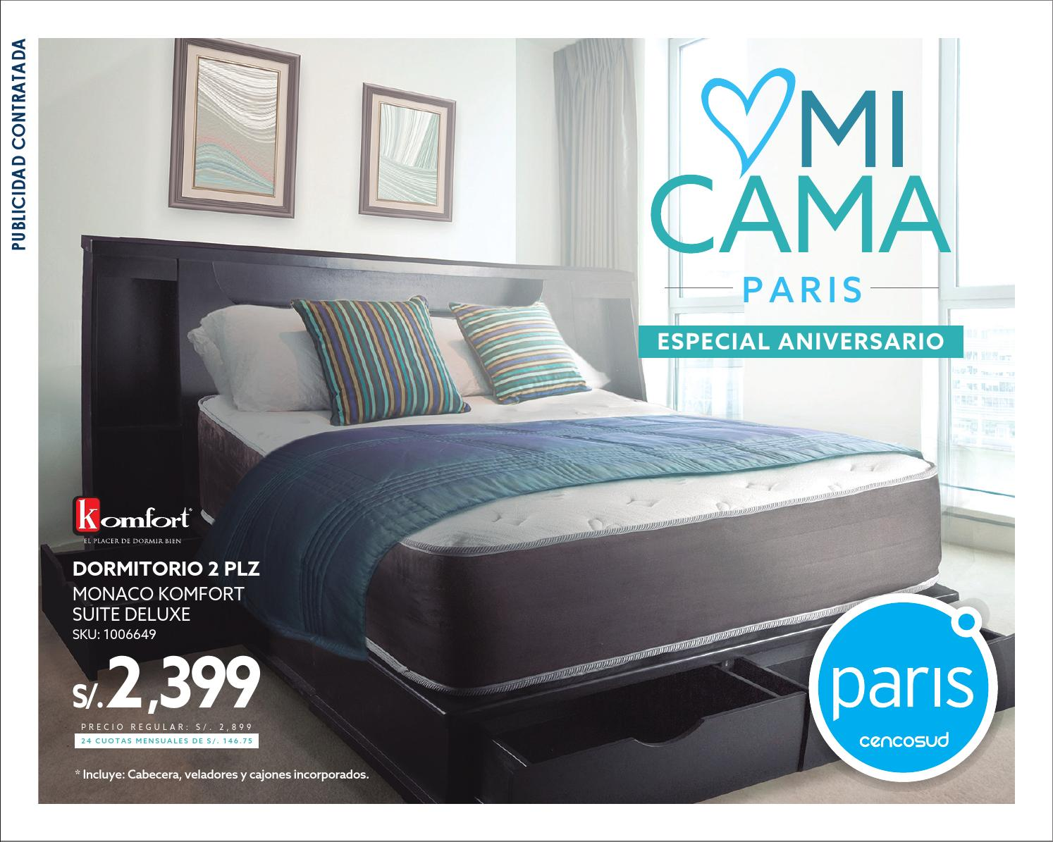 Paris cat logo colchones by paris issuu - Precios de somieres y colchones ...