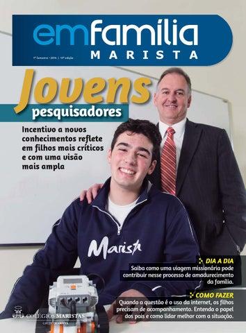 c2aa8dc40 Em Família | Marista de Criciúma by Lumen Comunicação | Em Família ...