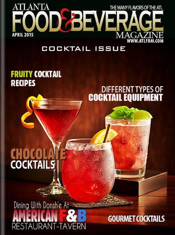 Atlanta Food Amp Beverage Magazine By Atlfbm Issuu