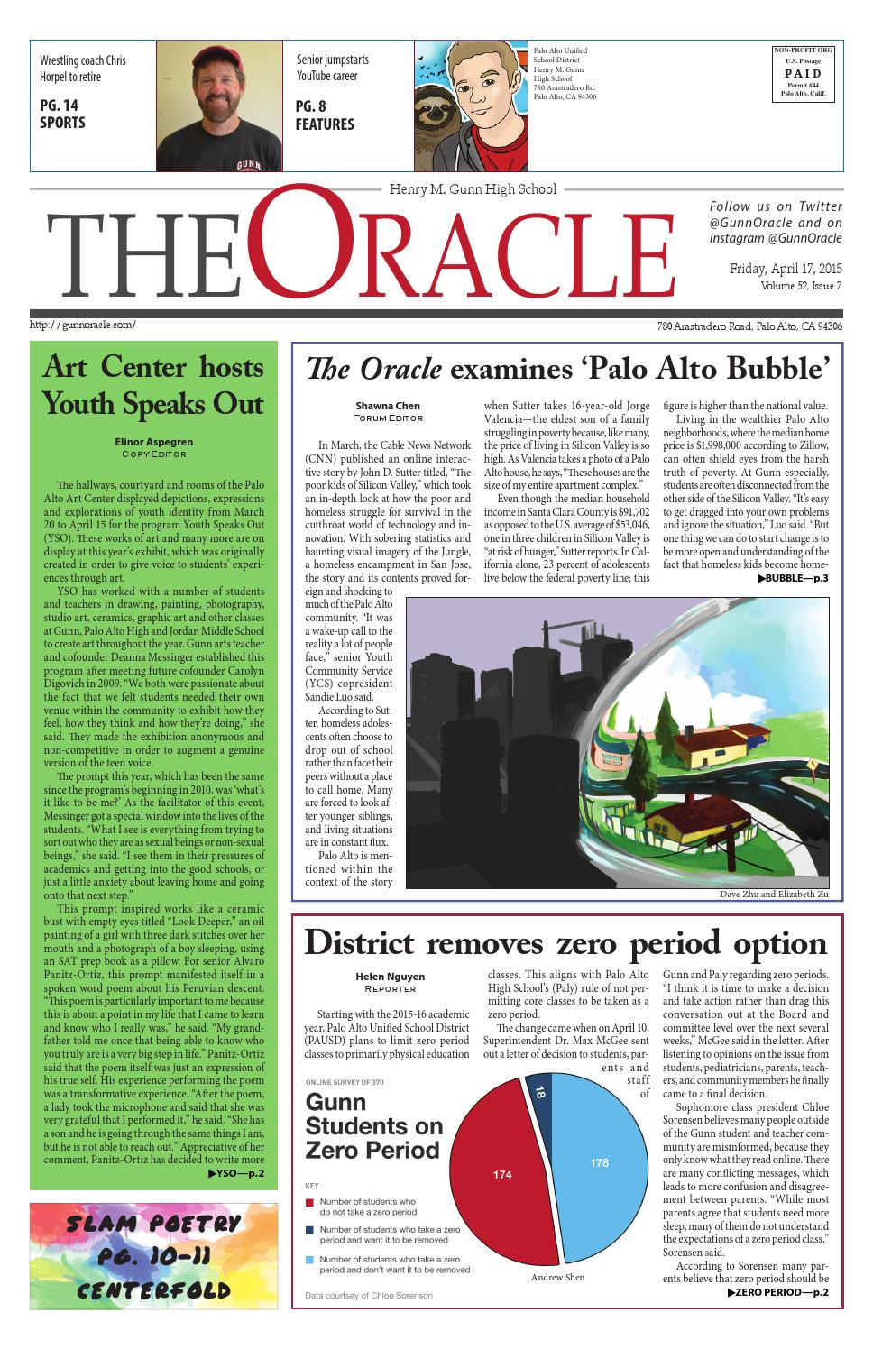 The Oracle April 2015 by The Oracle - issuu