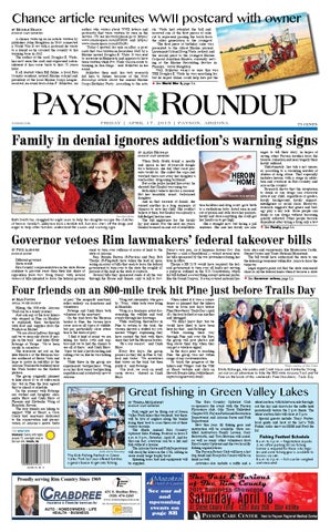 Payson Roundup 041715 by Payson Roundup - issuu on
