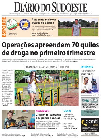 3f375d8aa1 Diário do sudoeste 18 e 19 de abril de 2015 ed 6358 by Diário do ...