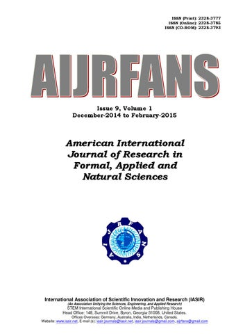 American international journal of research in formal applied and page 1 fandeluxe Choice Image