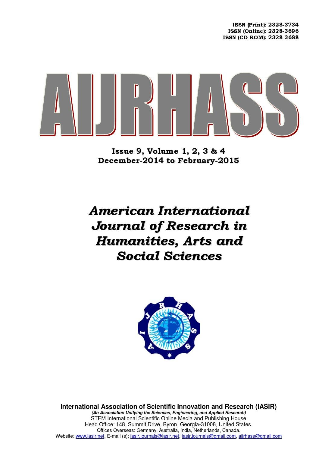 international journal of humanities and social science International journal of social sciences home  arts & humanities conferences  international journal of social sciences international journal of teaching.