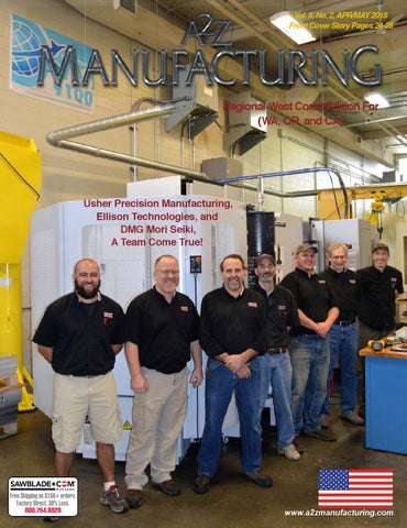 Apr May 2015 a2z Manufacturing West Coast by A2Z