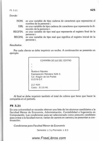 libro metodologia de la programacion osvaldo cairo 3ra edicion