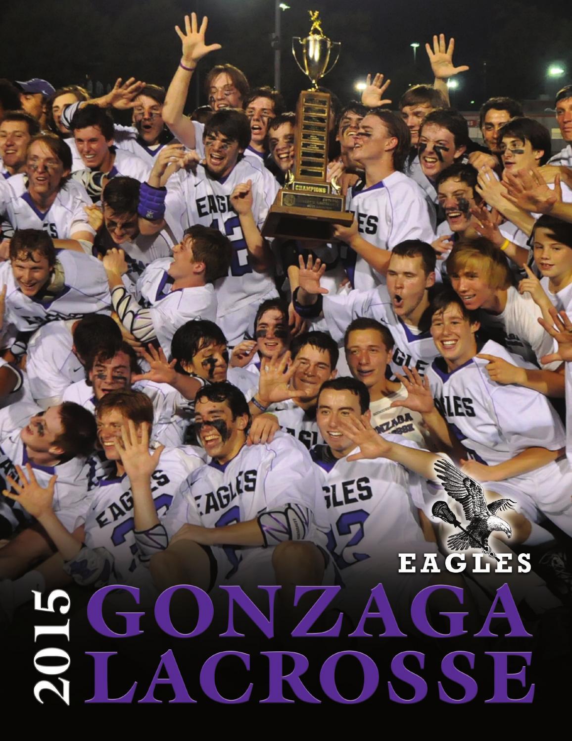 Gonzaga Lacrosse 2015 Media Guide By Gonzagalax Issuu