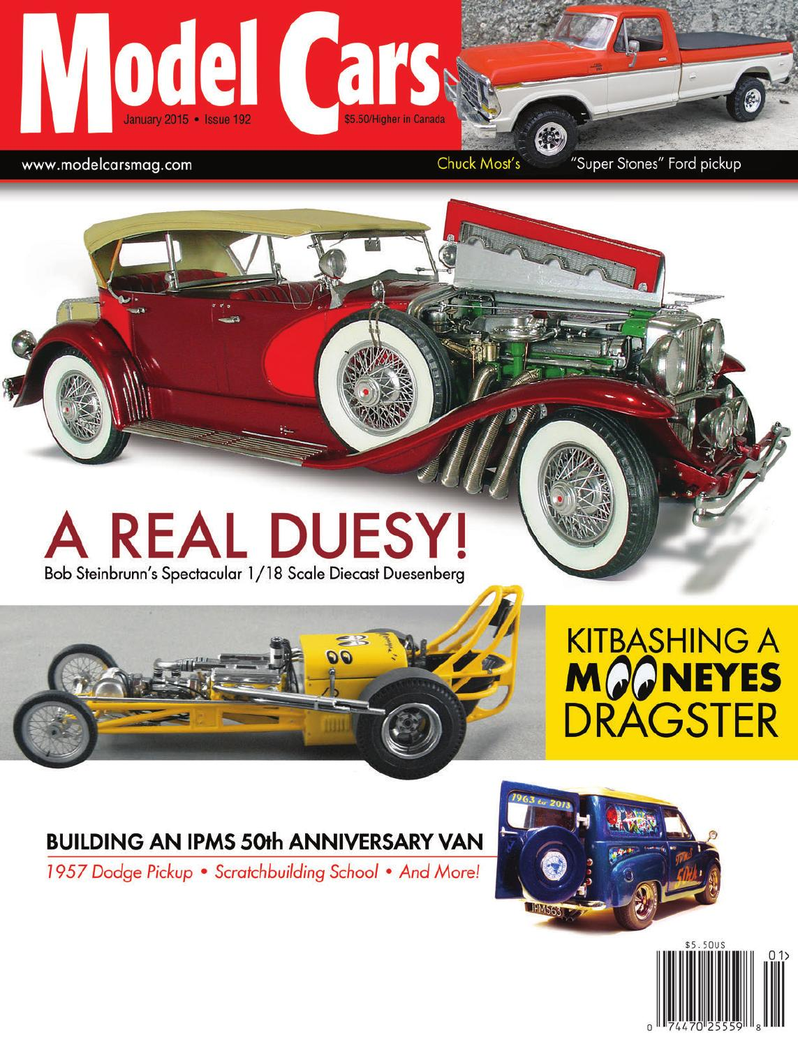 January 2015 #192 Issue of Model Cars Magazine by Model Cars ...