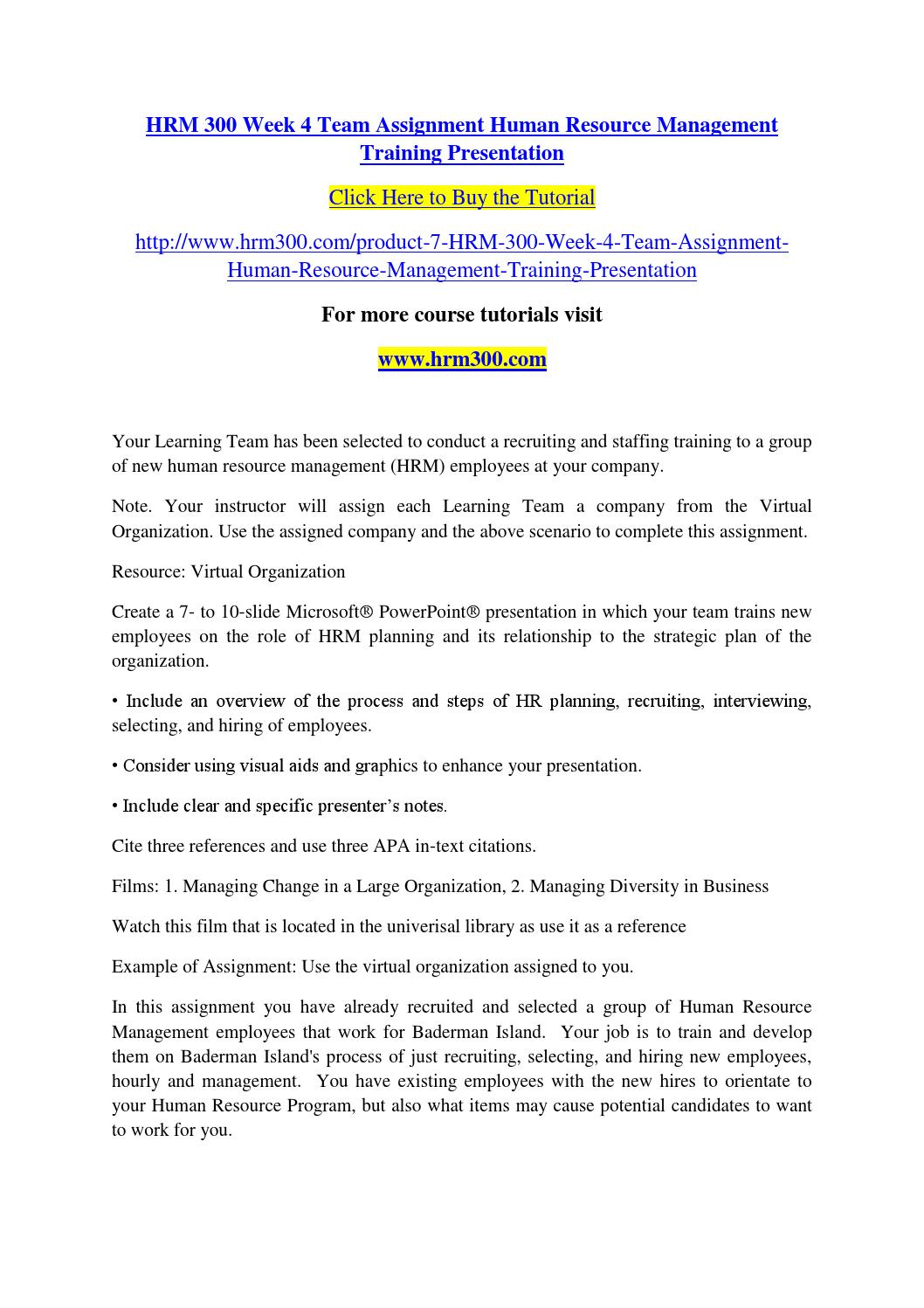 hr assign completed Our human resource assignment help tutors provide hr essay writing, hrm assignment writing services for all the areas of human resource branches of human resource management (hrm) employee relations : it is a common area from which students get lots of questions on exams and assignments.