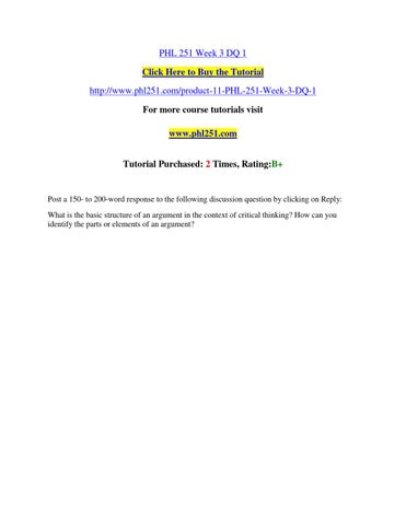 logical thinking worksheet phl 251 University of phoenix material logical thinking worksheet use the following questions to guide you through your a syllogism is defined as any.