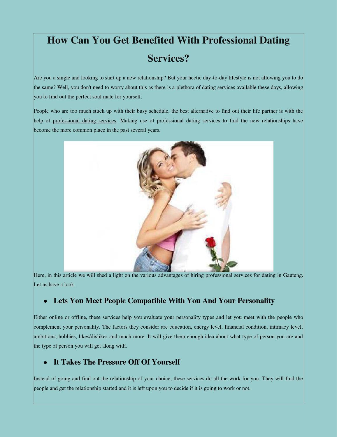 Dating services gauteng