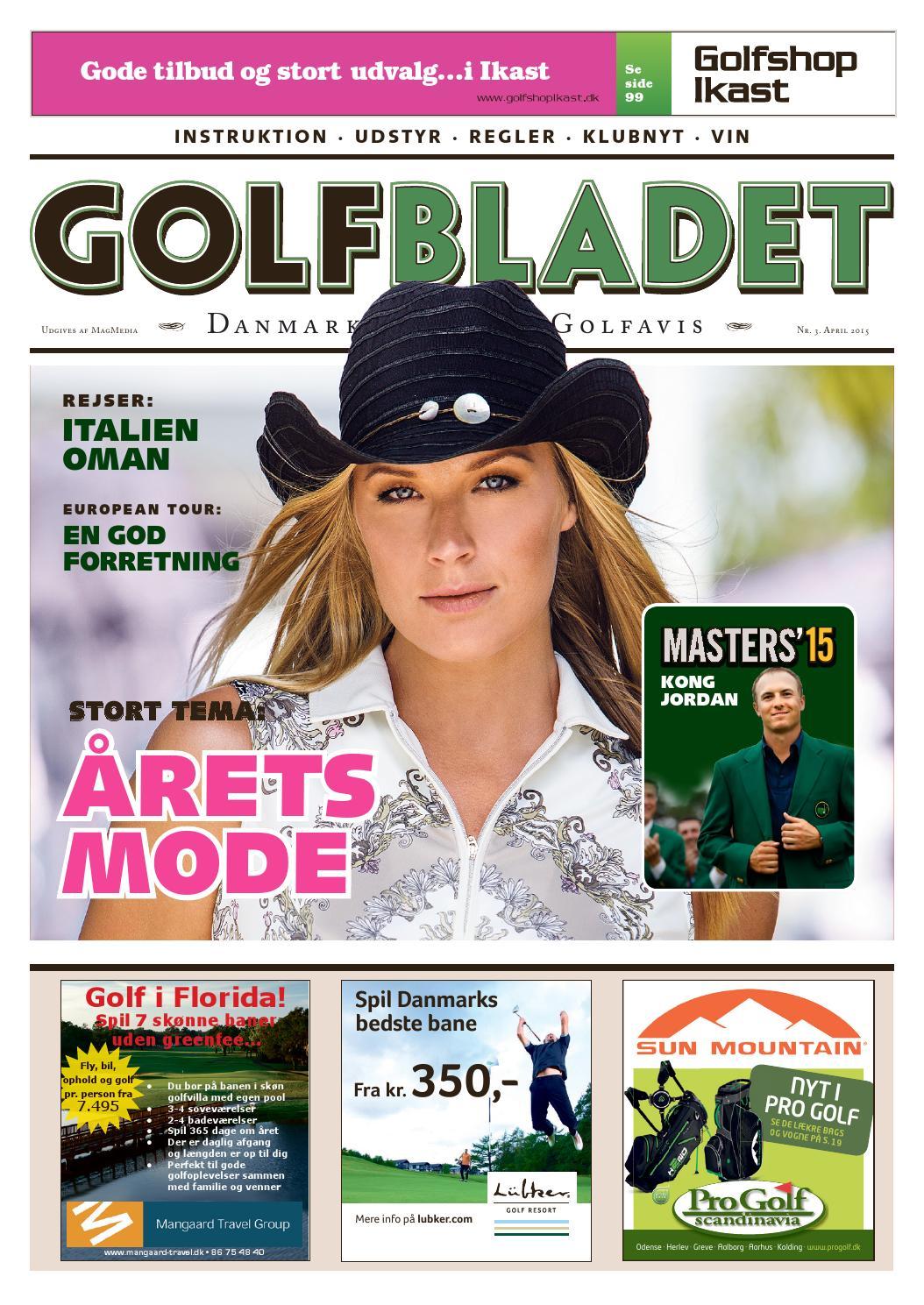 a733dde07a6 Golfbladet april 2015 by Morten Buckhøj - issuu