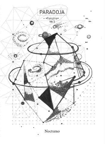 Paradoja Fanzine \'Nocturno\' by Paradoja Ediciones - issuu
