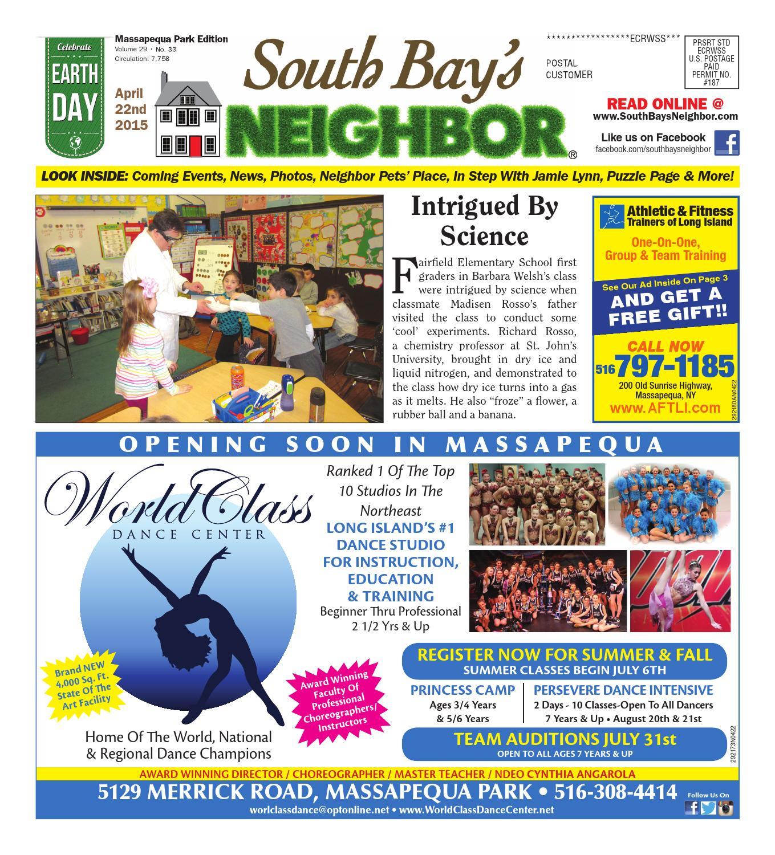 April 22 2015 Massapequa Park by South Bay s Neighbor Newspapers