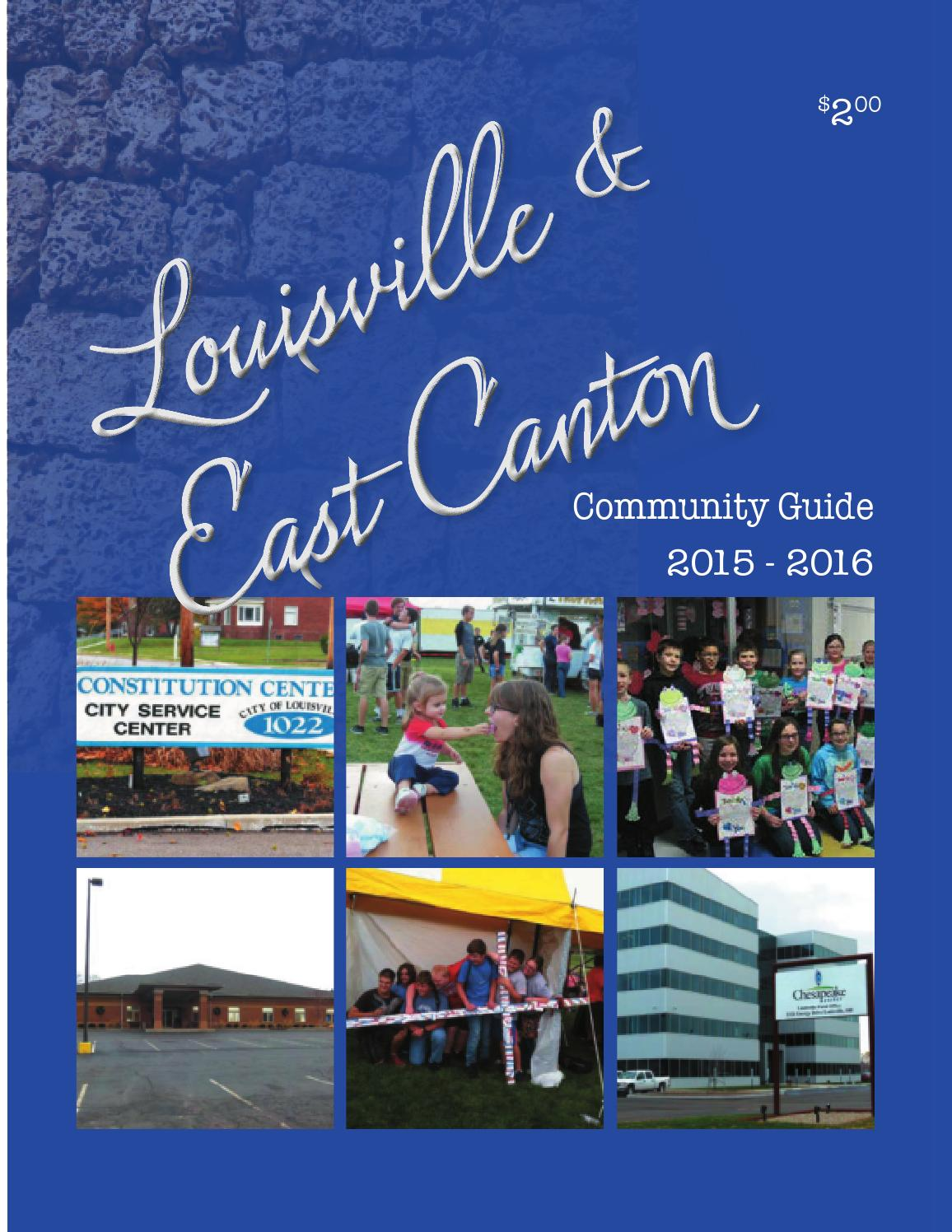 Louisville & East Canton Community Guide 2015-2016 by