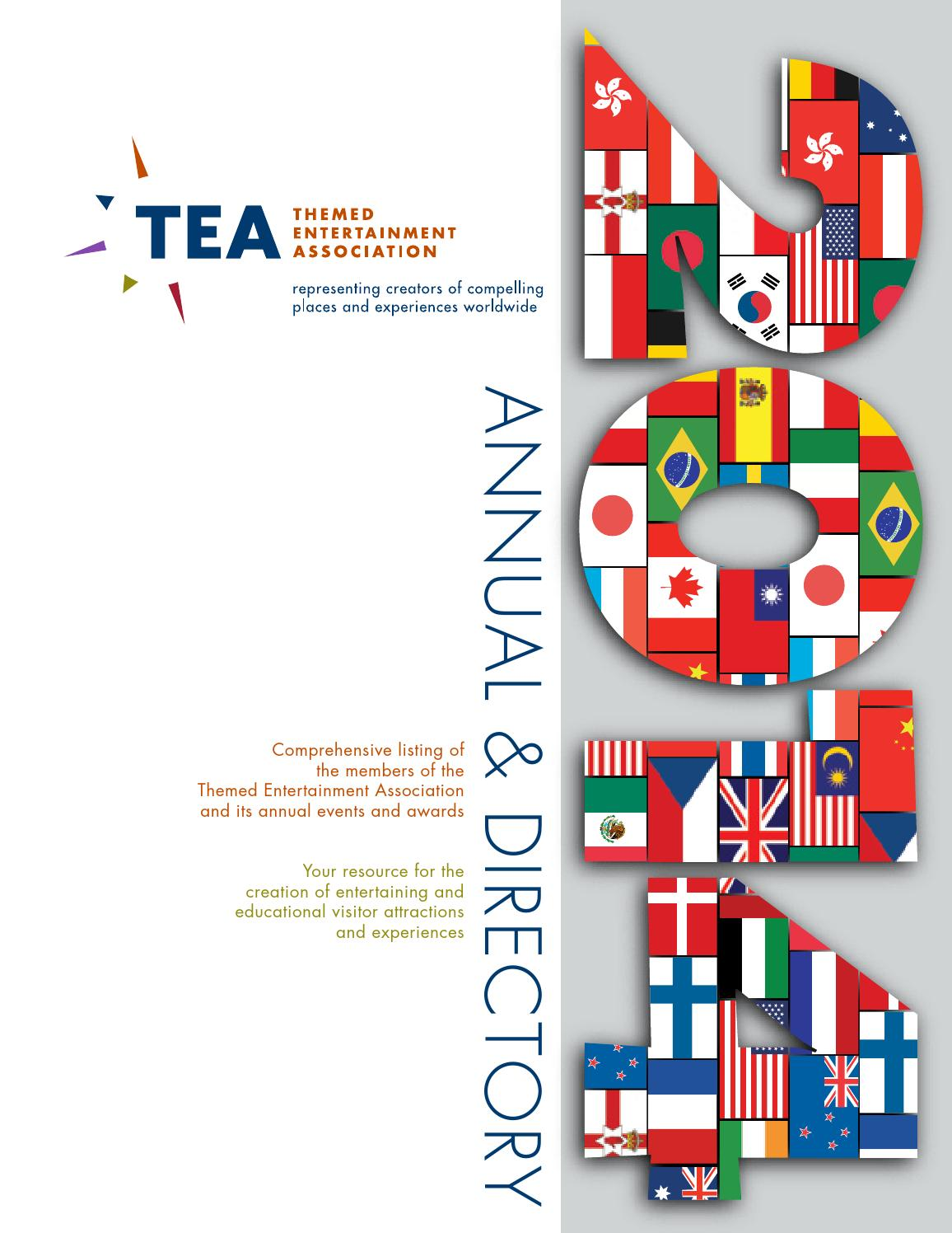 tea 2014 annual directory by themed entertainment