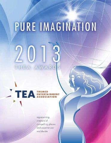 2013 TEA Thea Awards Program by Themed Entertainment Association - issuu
