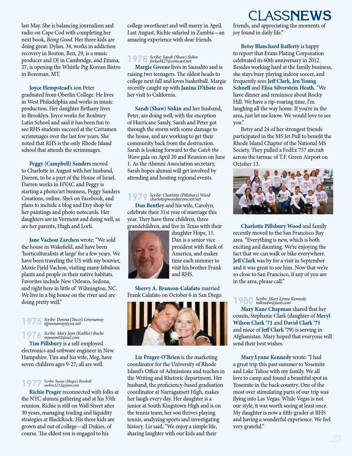 The Bulletin - Winter 2013 by Rocky Hill School - issuu