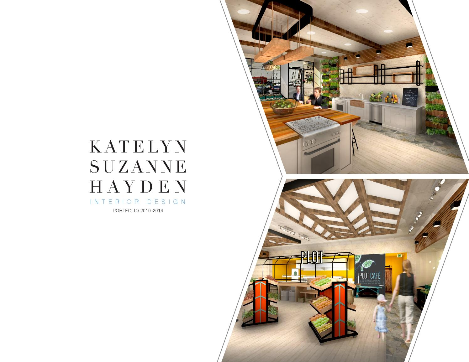 Interior design portfolio by katelyn hayden issuu - Interior design portfolio samples ...