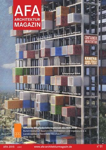 AFA Architekturmagazin 01/2015 by AFA Architekturmagazin ...