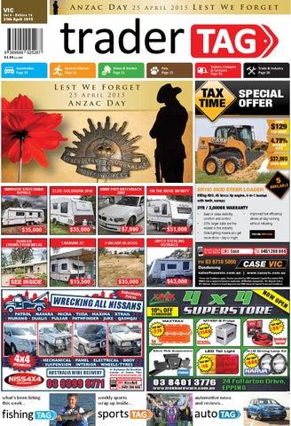 7a61ab8ad7856 TraderTAG Victoria - Edition 16 - 2015 by TraderTAG Design - issuu