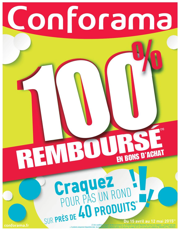 Conforama catalogue 15avril 12mai2015 by PromoCatalogues.com ...
