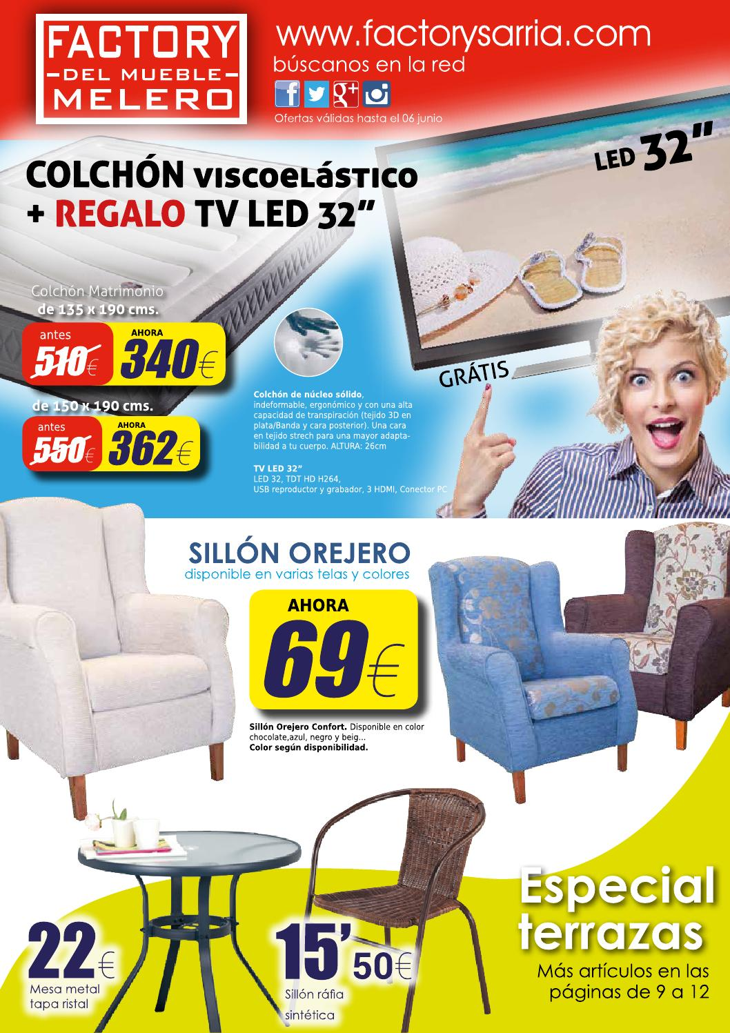 ofertas factory del mueble melero abril 2015 by factory