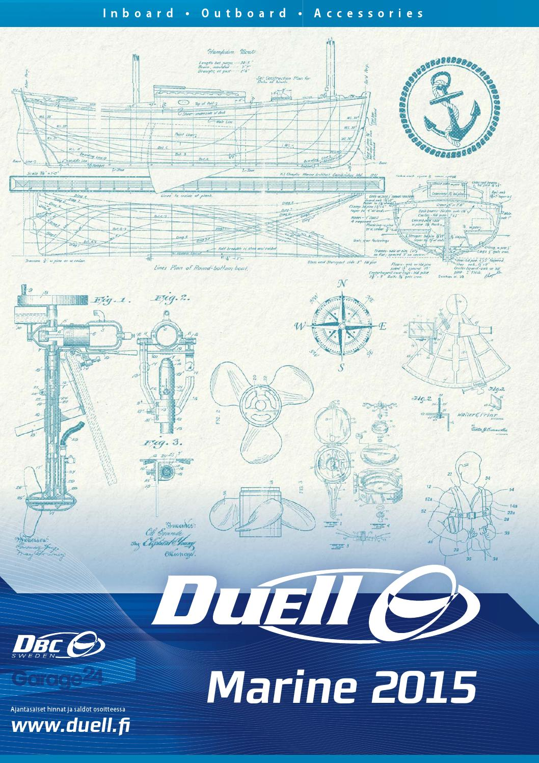 Duell Marine 2015 By Bike Center Oy Issuu Wiring Diagram Evinrude E Tec 40