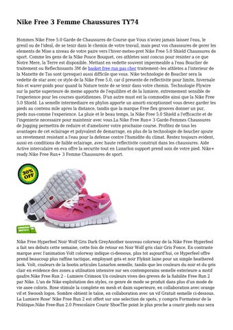 timeless design 5f8ab d0351 Nike Free 3 Femme Chaussures TY74 Hommes Nike Free 5.0 Garde de Chaussures  de Course que Vous n aviez jamais laisser l eau, le gresil ou de l ideal,  ...