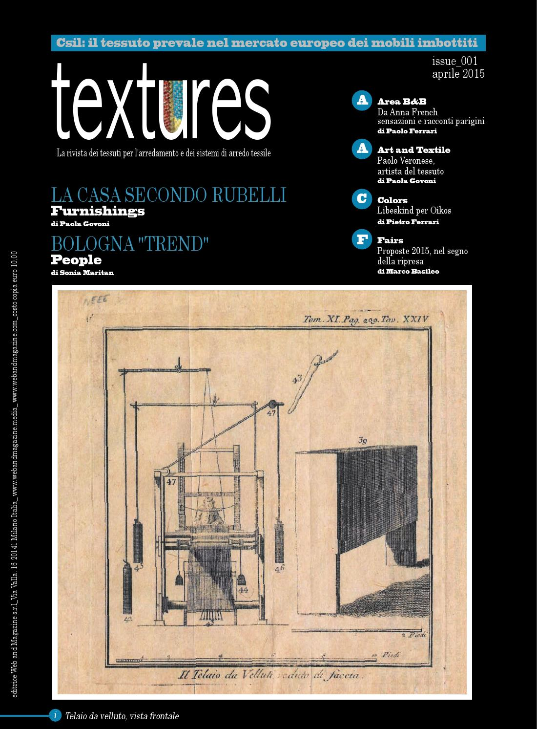 TEXTURES issue 001 by Web and Magazine s.r.l. - issuu 351f1b57d1ae