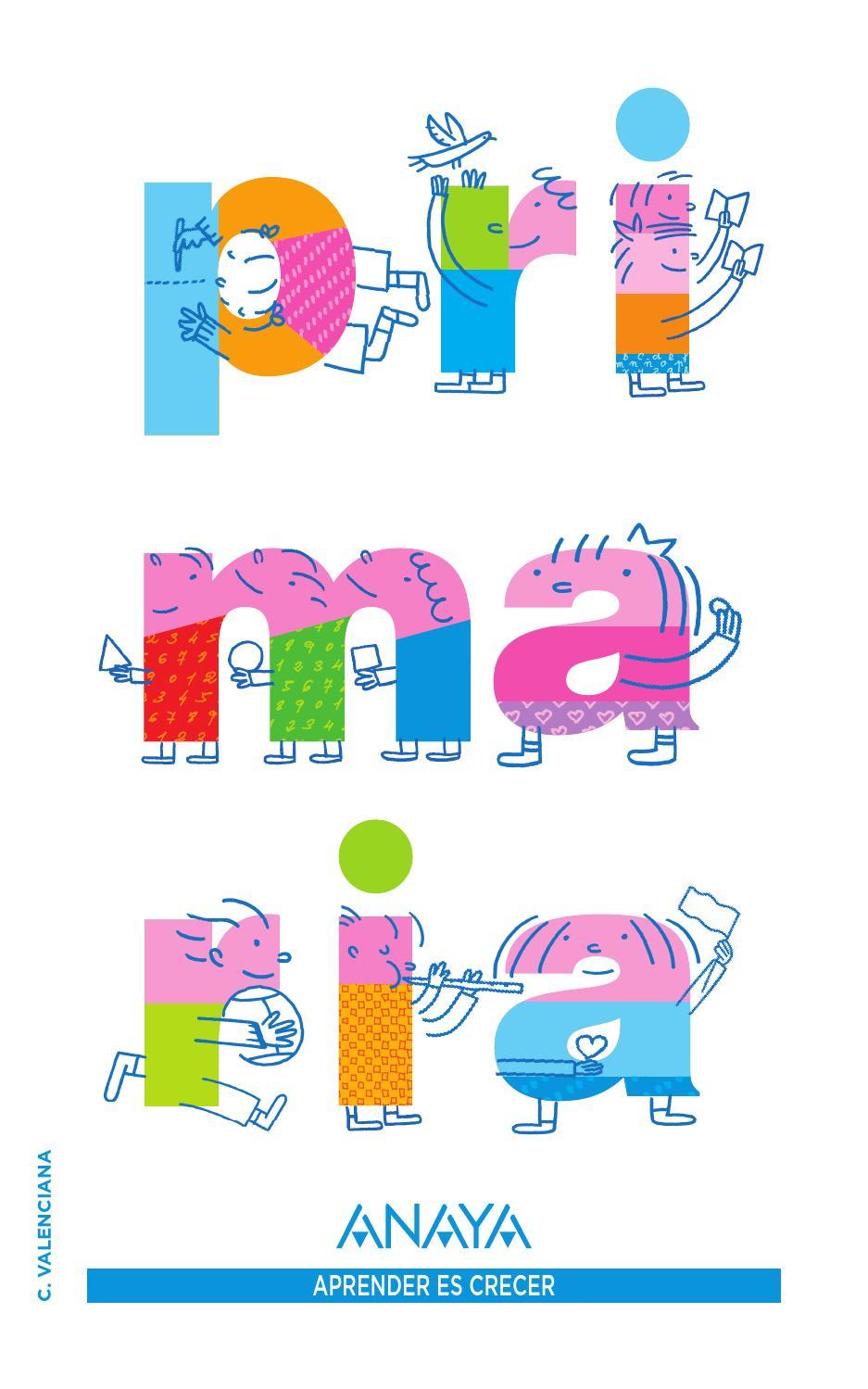 Primaria  Aprender Es Crecer By Grupo Anaya  S A