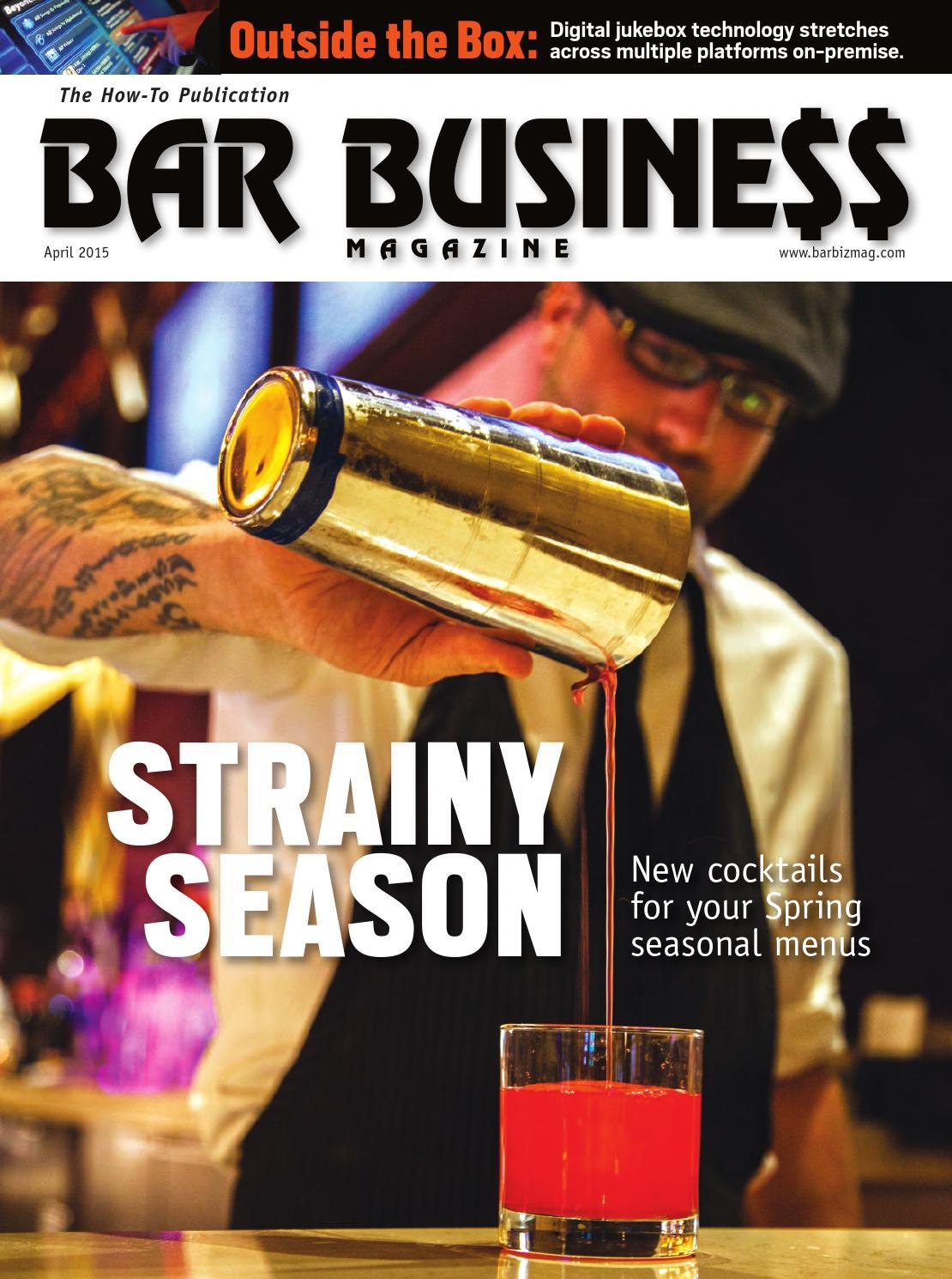April 2015 Bar Business By Bar Business Magazine Issuu