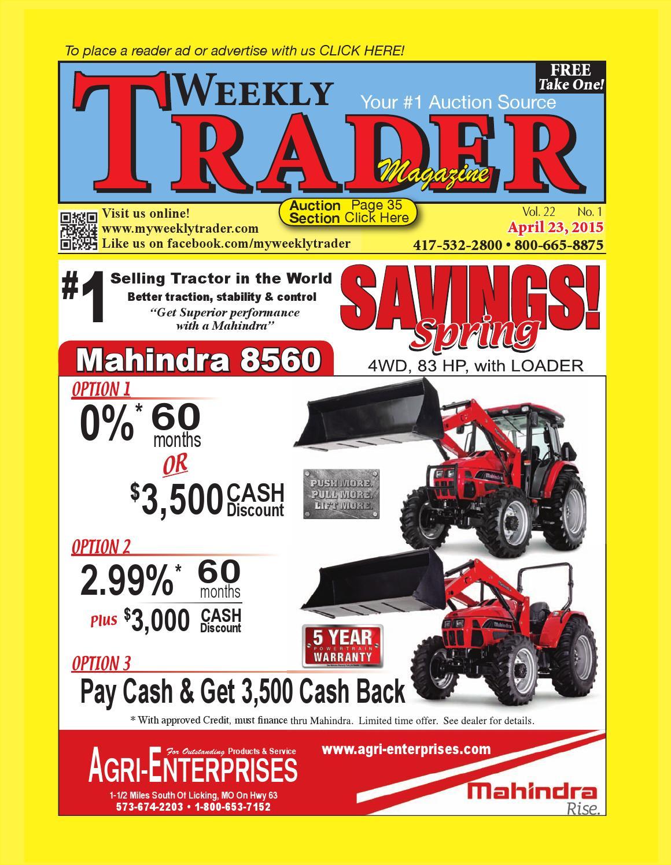 Weekly Trader April 23, 2015 by Weekly Trader - issuu