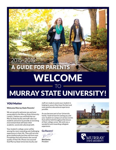 Murray state university 2015 2016 guide for parents by page 1 publicscrutiny Choice Image