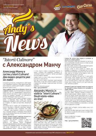Andys News Aprilie 42 By Andys Pizza Issuu