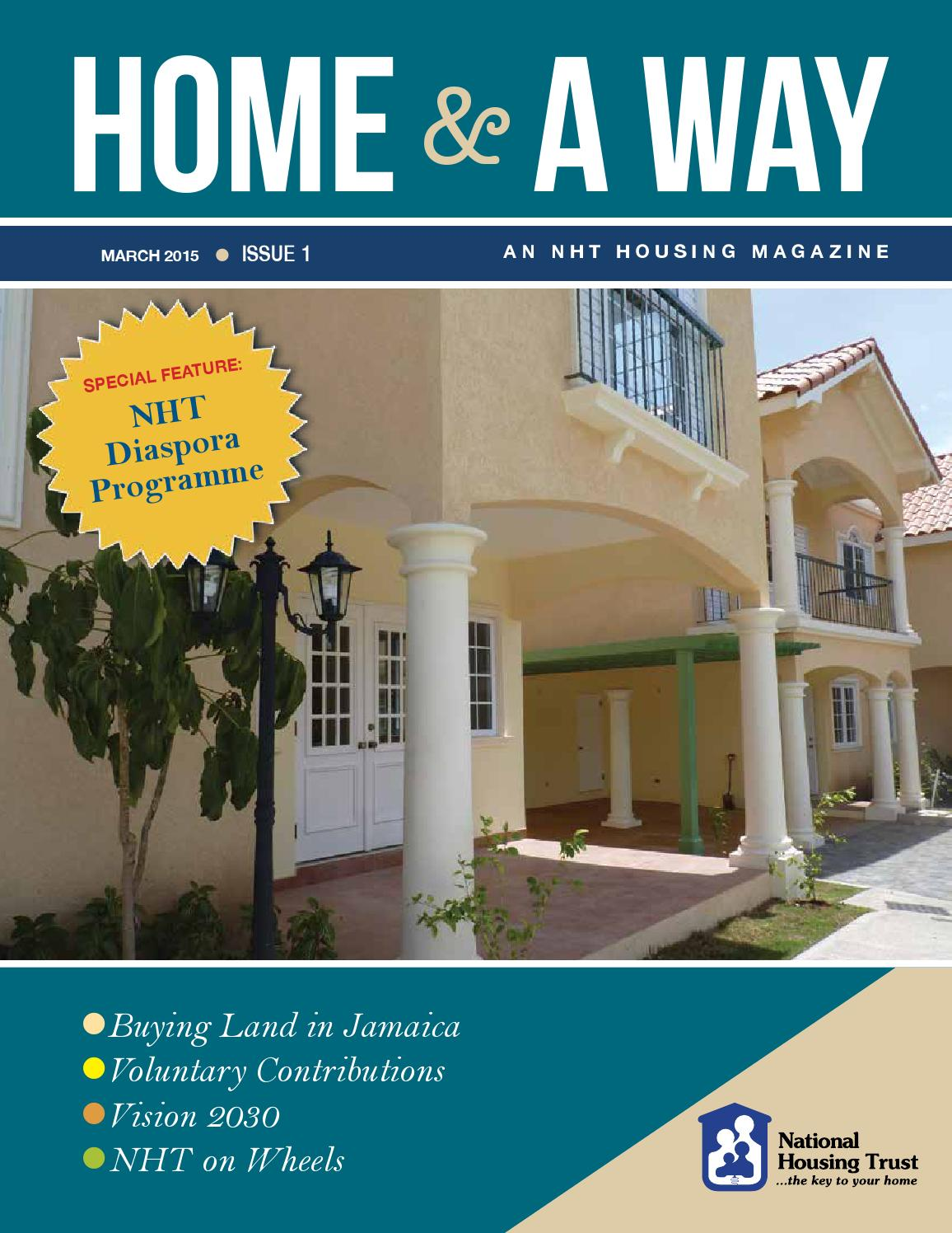 home & a way by the national housing trust - issuu