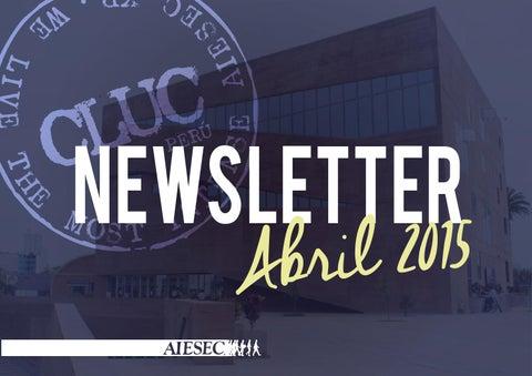 alto Tentación Conciencia  Puma Newsletter Abril 2015 by AIESEC Universidad Católica - issuu