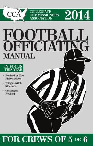 2013 cca football mechanics manual