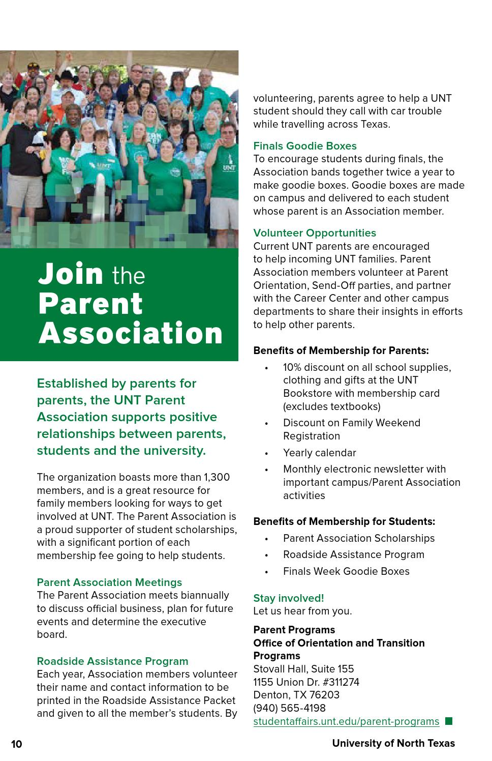 University Of North Texas 2015 2016 Guide For Parents By