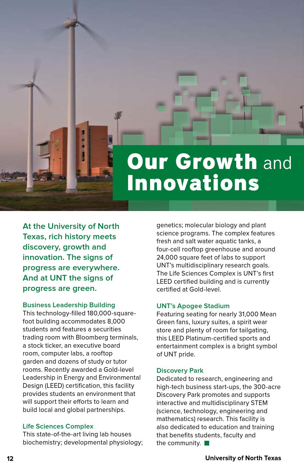 University of North Texas 2015-2016 Guide For Parents by