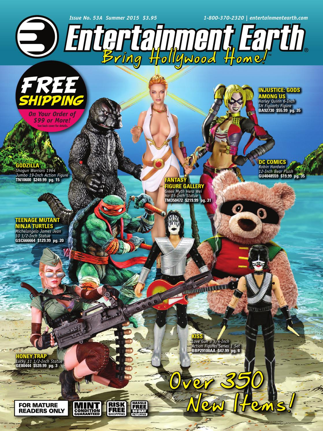 db3b3bccfed5 Entertainment Earth Summer 2015 Catalog by Entertainment Earth - issuu