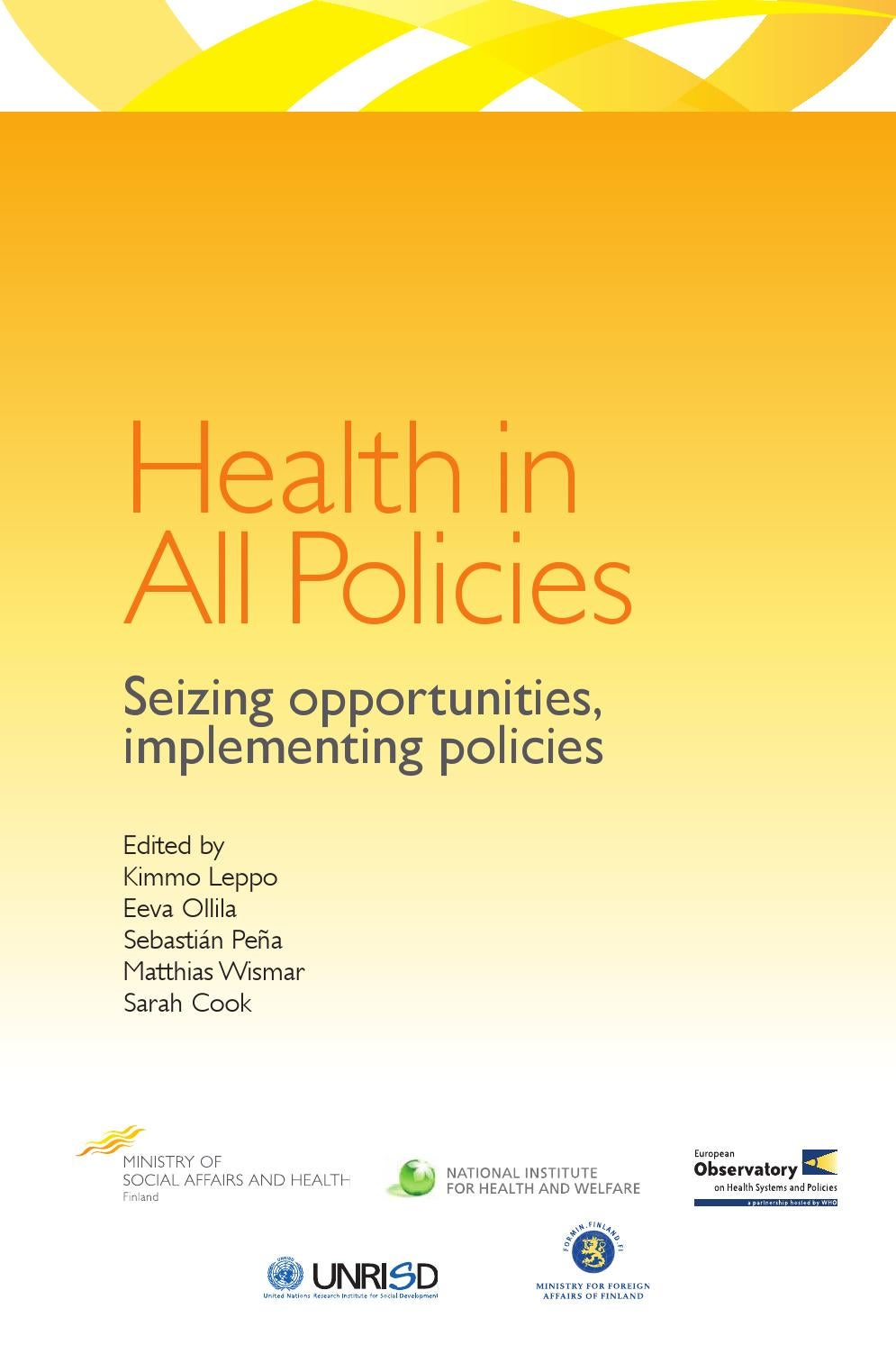 implementing healthcare policies in new zealand Implementing a health 2020 vision:  new zealand fig 6 is reproduced by kind permission of the ministry of social and family  health 2020, the new health .