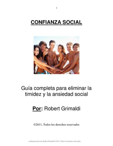 Confianza social robert grimaldi online dating