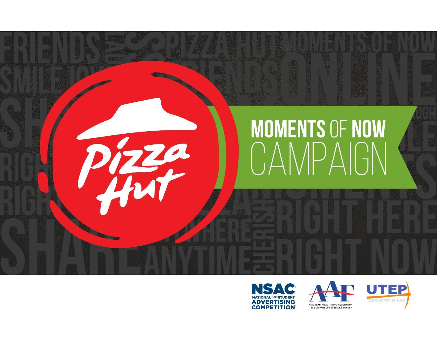 pizza hut executive summary