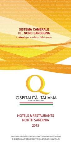 online store 61495 1120f Ospitalità Italiana Nord Sardegna 2015